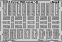 German WW2 clamps - Image 1
