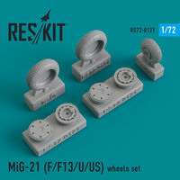 MiG-21 (F/F13/U/US) wheels set - Image 1