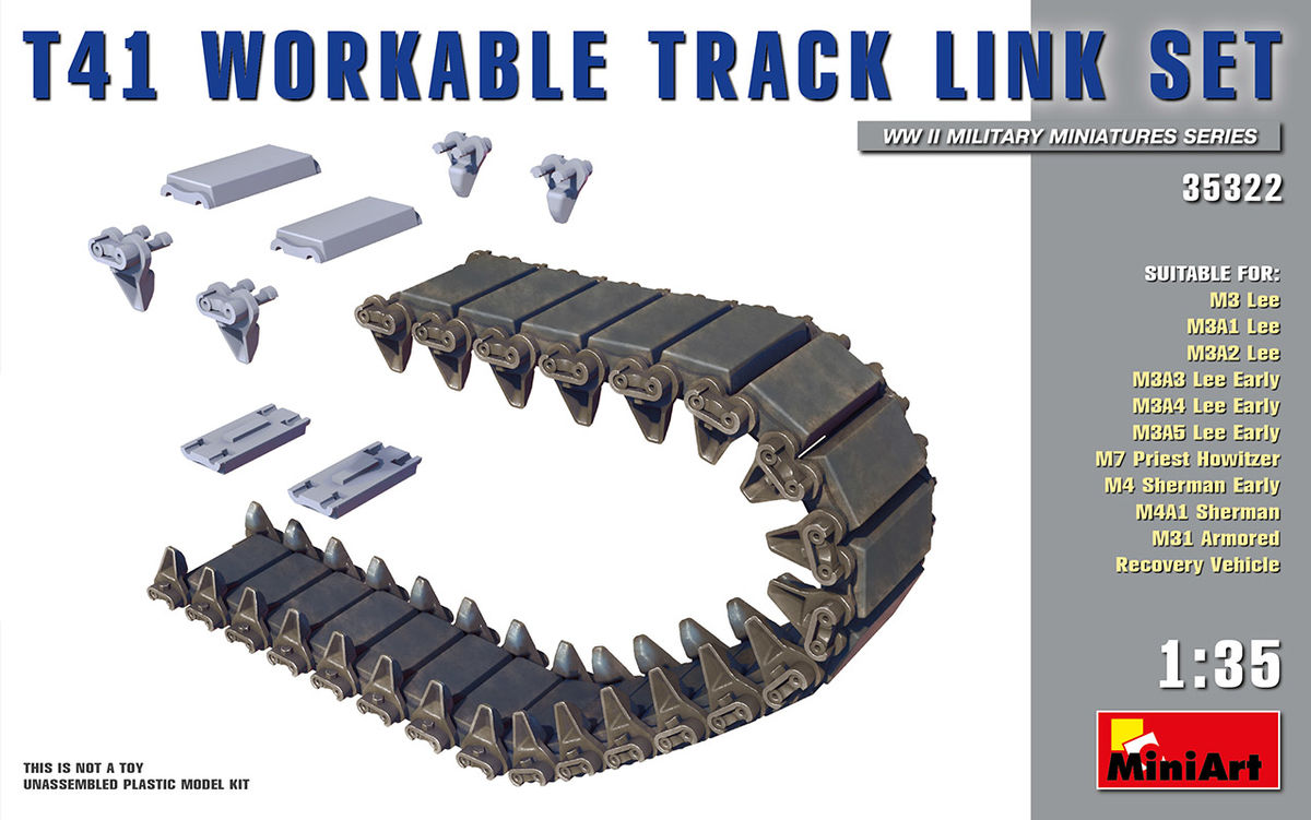 T41 Workable Track Link Set - Image 1