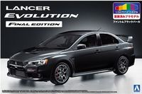 Lancer Evo X Final Edi. Black