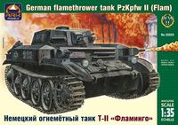 German flamethrower tank Pz Kpfw II (Flamm) - Image 1