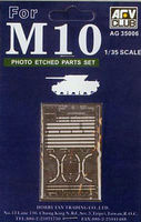Photo Etching parts for M-10 - Image 1