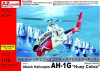 "Attack Helicopter AH-1G Late ""Huey Cobra"" Special marking - Image 1"
