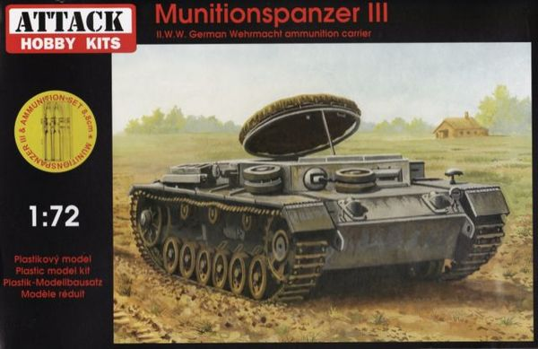Munitionspanzer III with ammunition set - Image 1