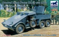 Armored Krupp Protze Kfz.69 with 3.7cm Pak 36 (late version)