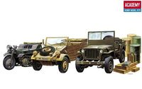WW.II GROUND VEHICLE SET