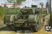 Churchill Mk.VI with Ordnance QF 75mm Mk.V gun - Image 1