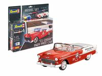 55 Chevy Indy Pace Car Model Set