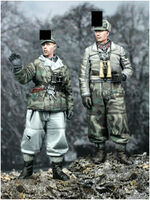 Winter Panzer Crew Set (2 figs)