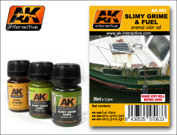 AK 063 SLIMY GRIME AND FUEL SET - Image 1