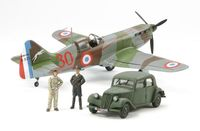 "Dewoitine D.520 ""French Aces"" - w/Staff Car - Image 1"