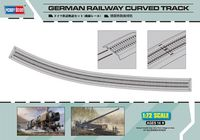 German Railway Curved Track - Image 1