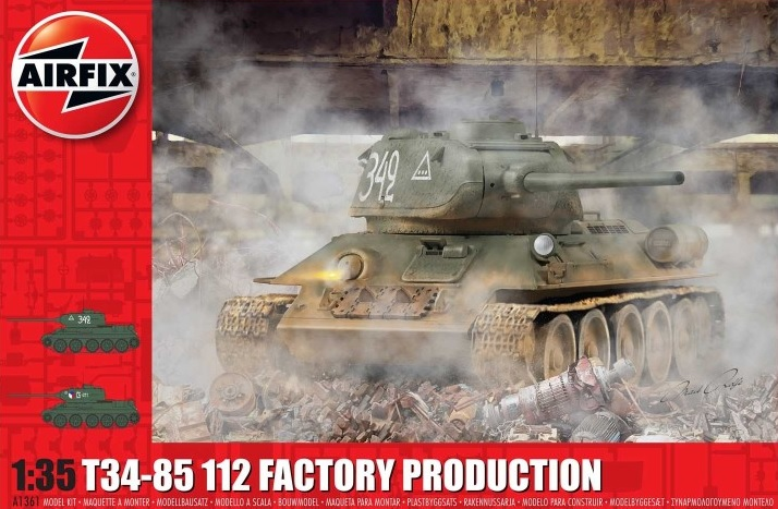 T34-85 112 Factory Production - Image 1