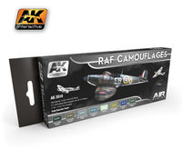 AK 2010 RAF Camouflages Set