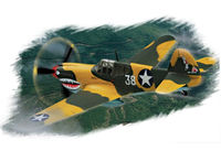 P-40E Kitty hawk - Image 1