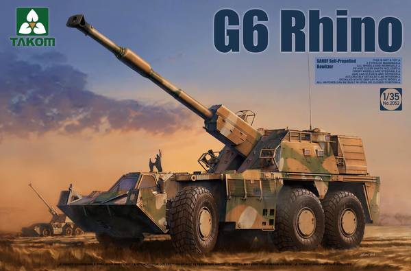 G6 Rhino SANDF Self-Propelled Howitzer - Image 1