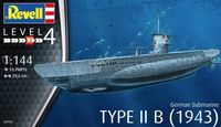 German Submarine Type IIB