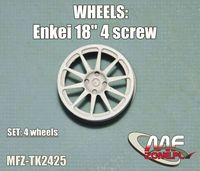 Enkei  wheels 10 spoke 4 screw - Image 1