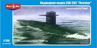 "American Nuclear-powered Submarine SSN-593 ""Thresher"""