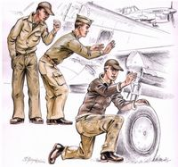 US Army machanics WW II - Image 1
