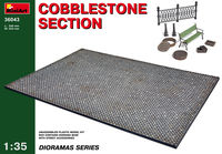 Cobblestone section