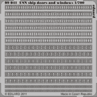 USN ship doors and windows  1/700 - Image 1