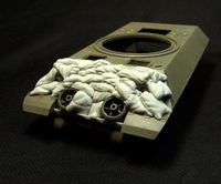 "Sand Armor for M10 ""Wolverine"" Tank Destroyer"