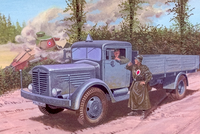 German truck Bussing-Nag 500S - Image 1