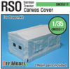 RSO Tractor Canvas Cover (for Dragon 1/35)
