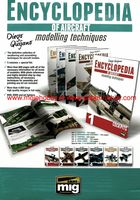 COMPLETE ENCYCLOPEDIA OF AIRCRAFT MODELLING TECHNIQUES (English) 5 volumes