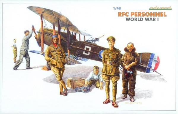 Royal Flying Corps (RFC) Personnel WWI Eduard 8505