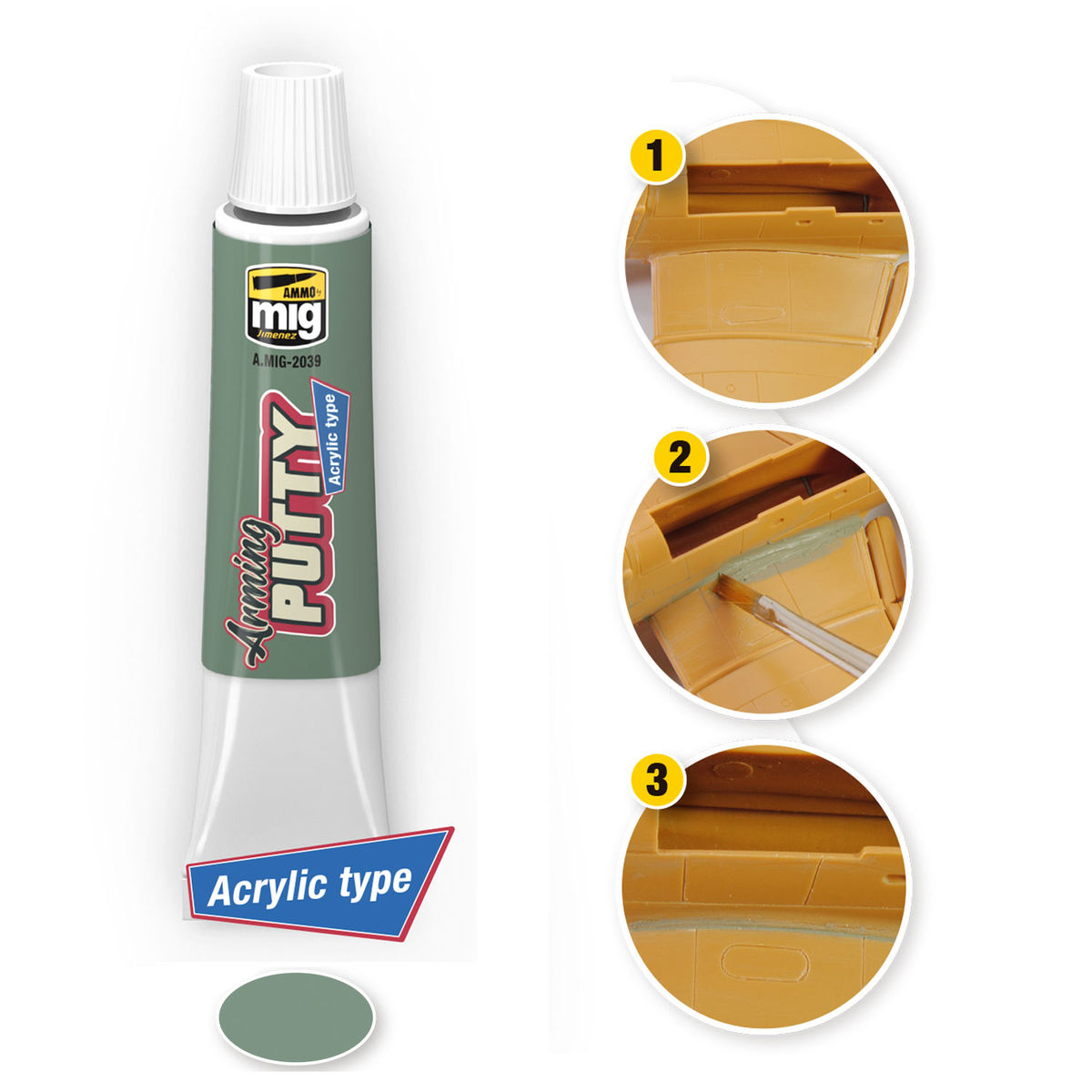 ARMING PUTTY. ACRYLIC TYPE - Image 1