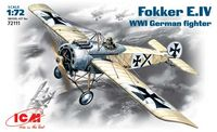 Fokker E.IV WWI German fighter