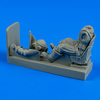 R.A.F. pilot with seat for Spitfire Figurines