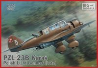 PZL 23B Karaś Polish Light Bomber late - Image 1